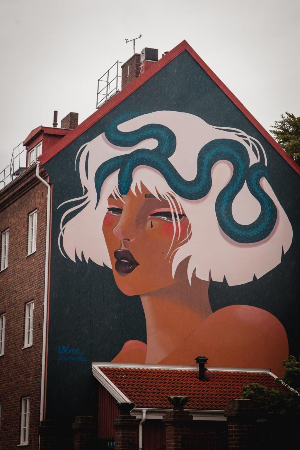 Helsingborg Street Art, Vera Primavera, Skåne, Sweden