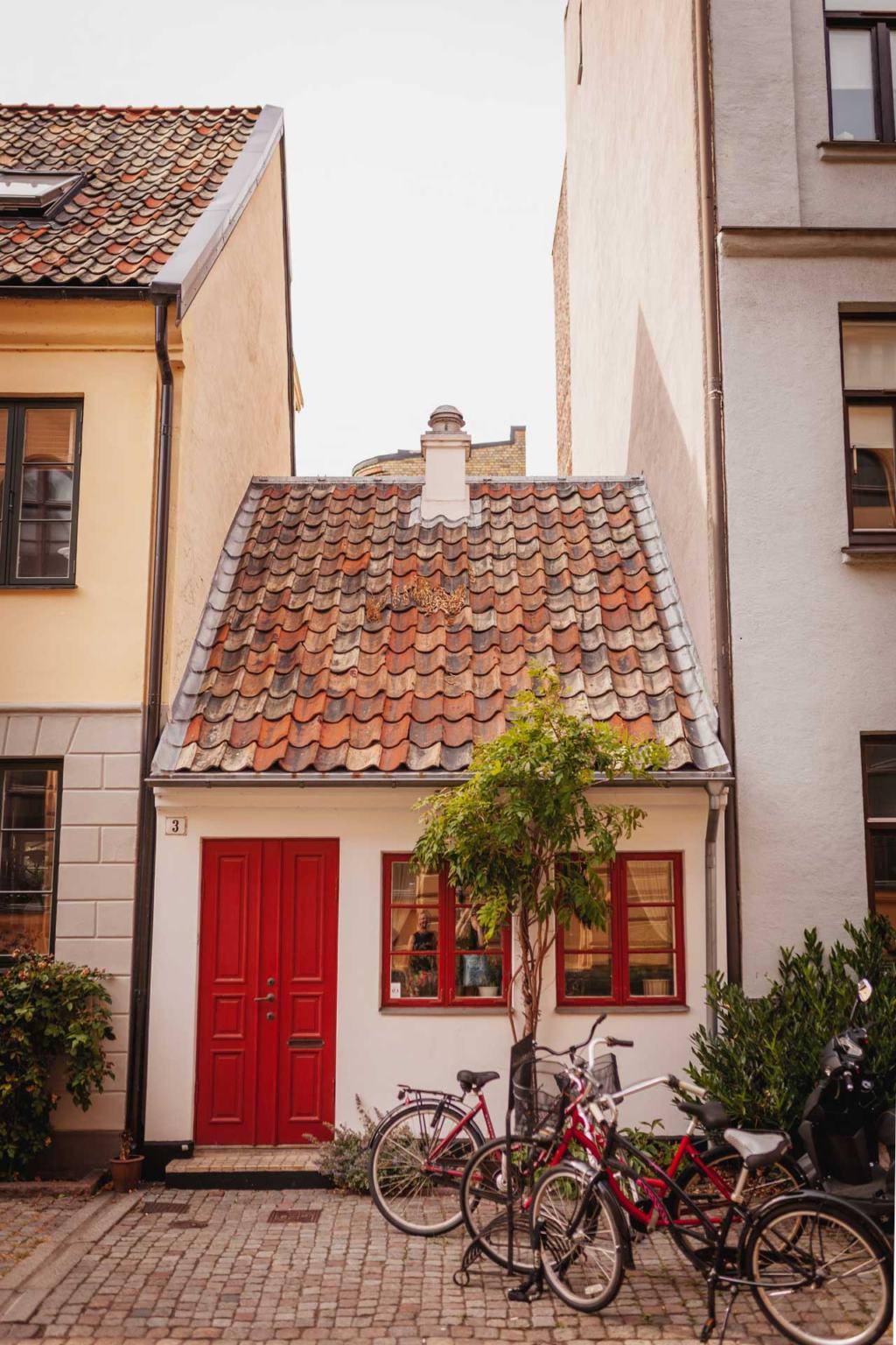 Hjorttackegatan, Gamla Väster, Gamla Staden, Malmö, Sweden