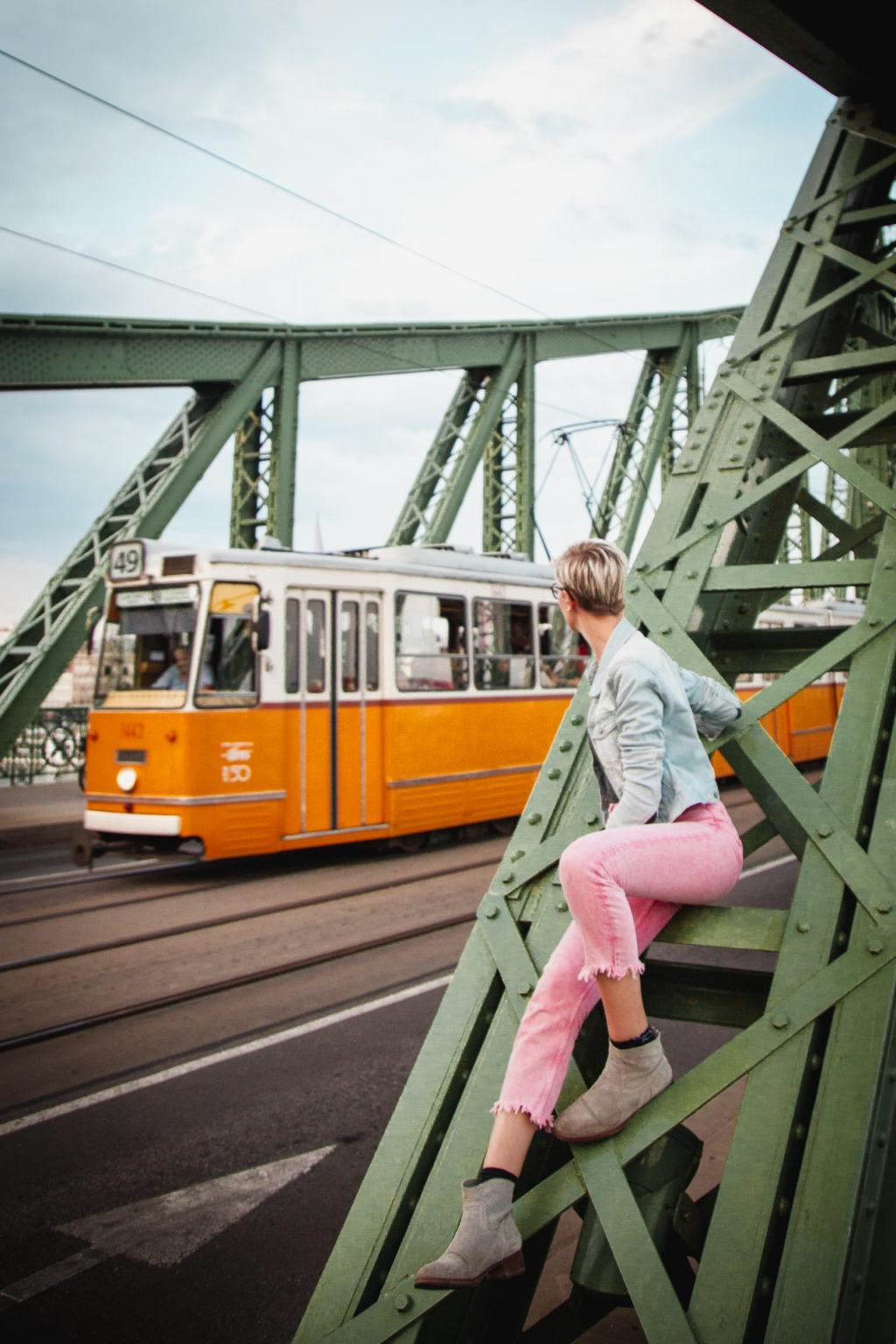 How to Get Around Budapest, use a Budapest Card and take the tram, Hungary