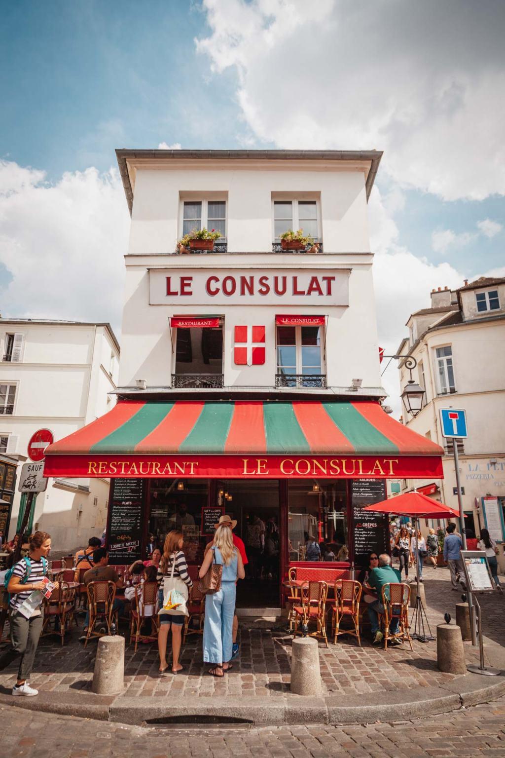 Le Consulat, Montmartre, Paris Instagram