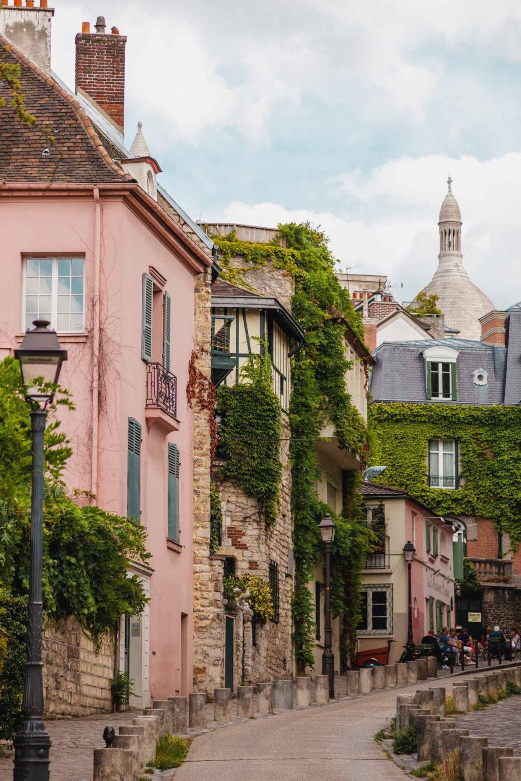 Rue de l'Abreuvoir, Sacré-Cœur, Montmartre, Paris