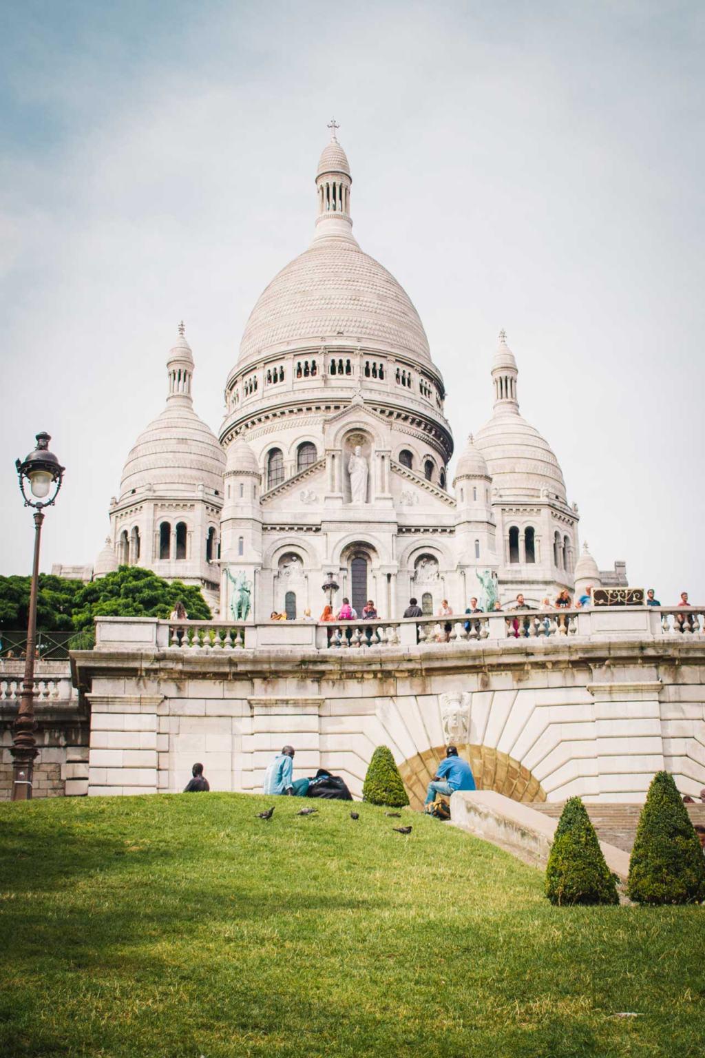 Sacre Coeur Balisica, Montmarte, Paris