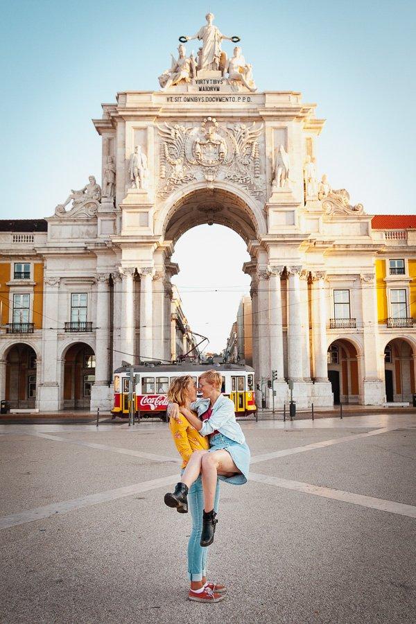 Arco da Rua Augusta, Praça do Comércio, Lisbon