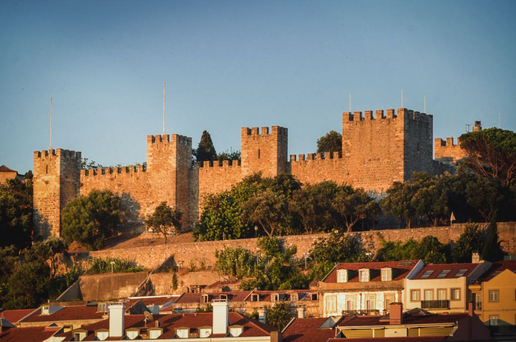 Castelo de São Jorge things to do Lisbon