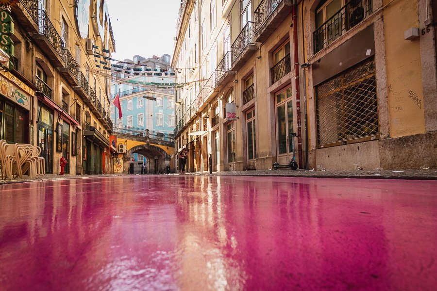 Everything you need to know about Pink Street Lisbon in Cais do Sodre