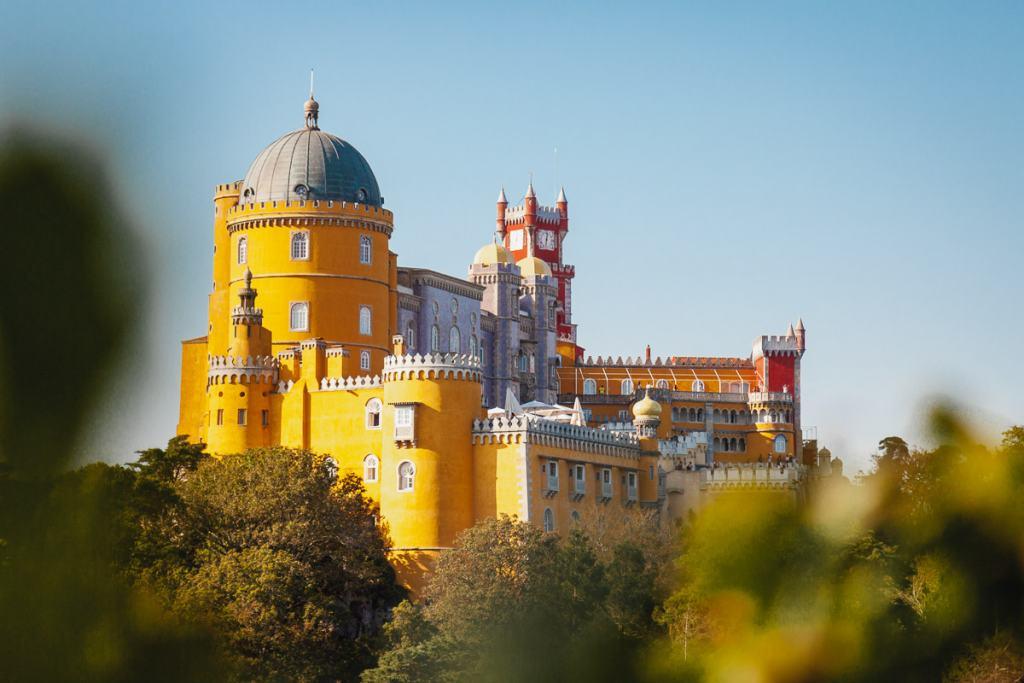 Pena Palace, Sintra, day trips Lisbon