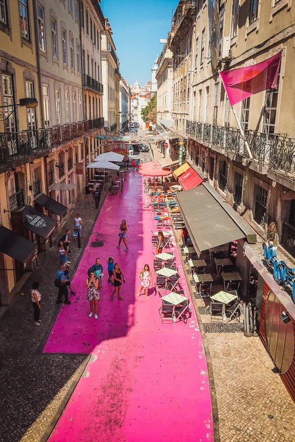 Pink Street Lisbon, Cais do Sodre