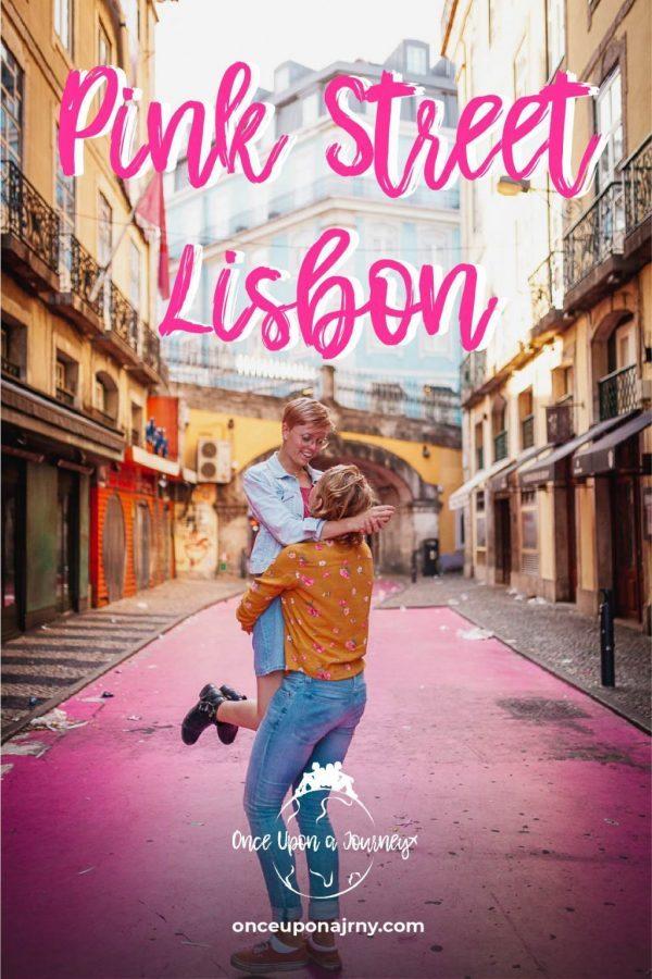 Pink Street Lisbon Photography
