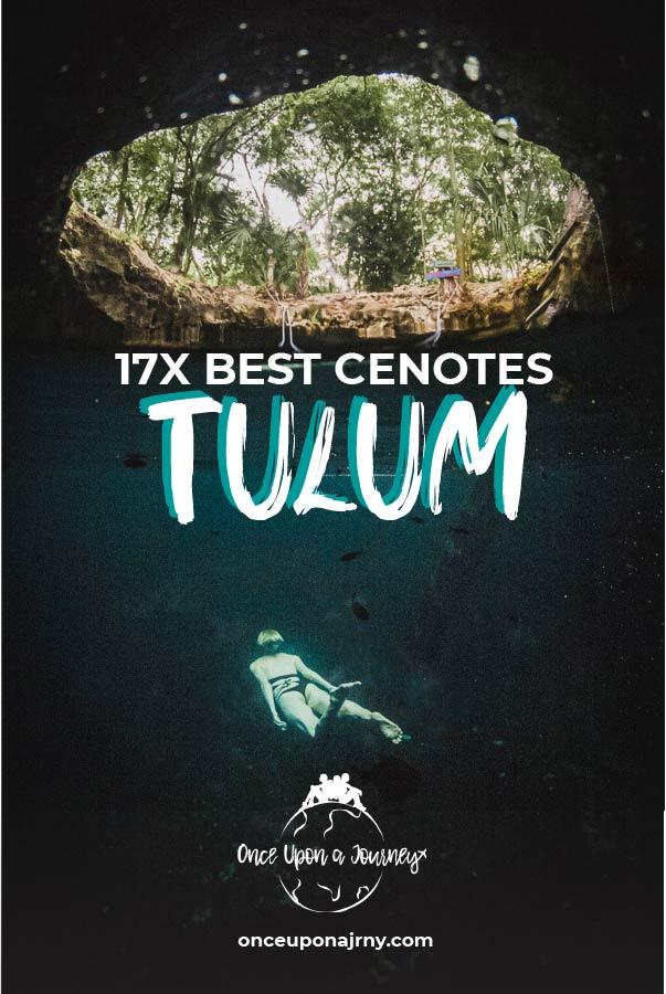 17x Best Cenotes Tulum