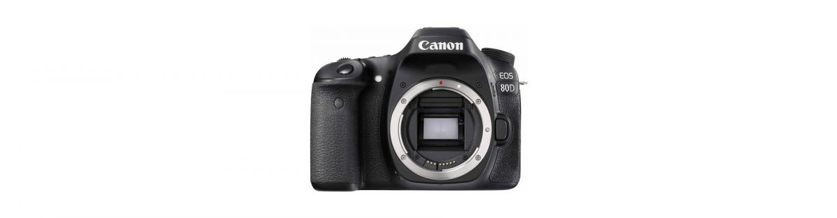 Canon EOS 80D Travel Photography Equipment