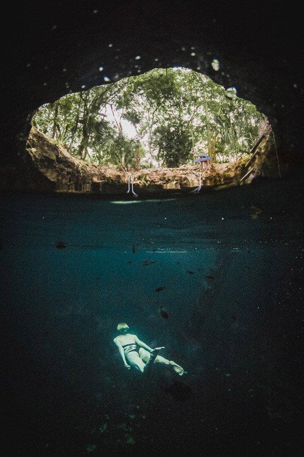 Cenote Calavera, Cenotes Tulum