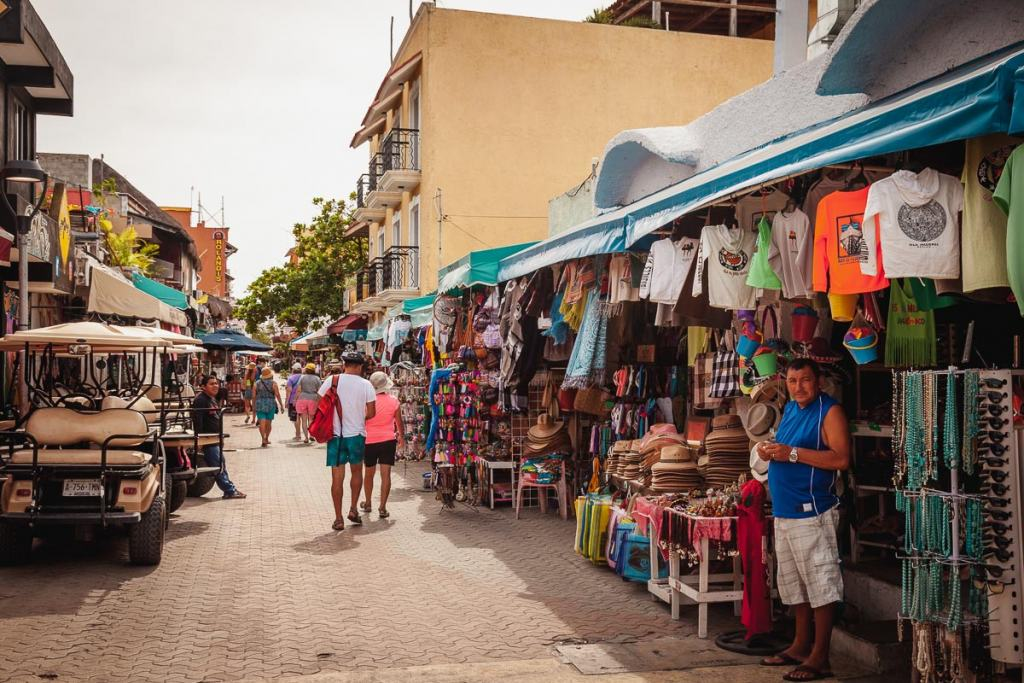 Isla Mujeres things to do, Miguel Hidalgo pedestrian street, Cancun, Mexico