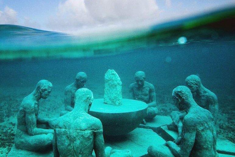 MUSA Underwater Museum Isla Mujeres