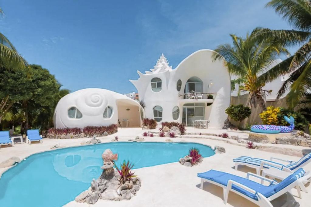 The Shell House Isla Mujeres courtesy Airbnb