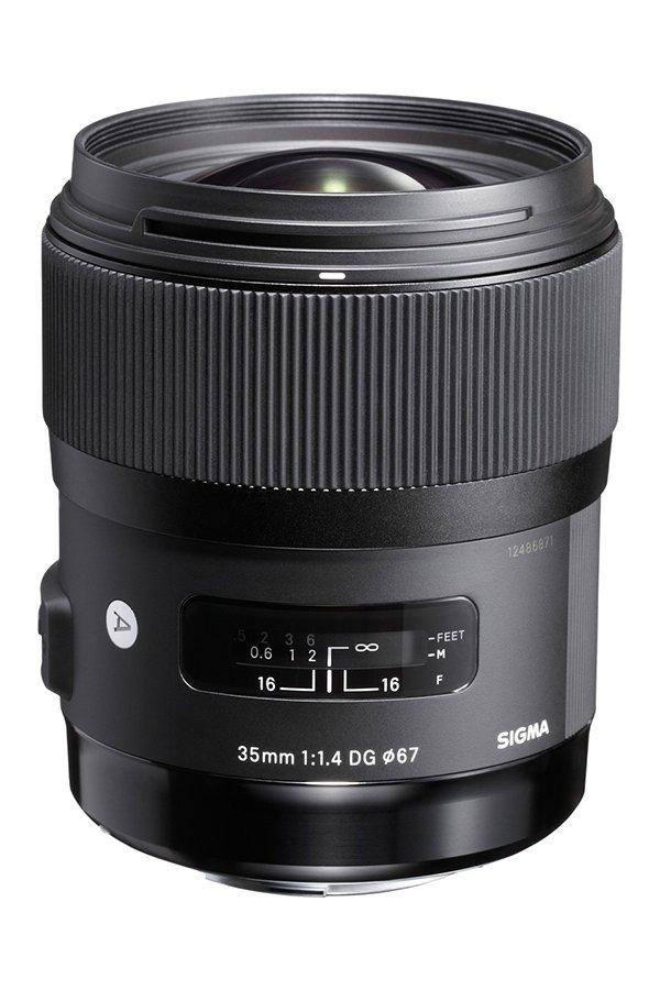WIDE ANGLE PRIME LENS Sigma 35mm f:1.4 ART DG HSM Canon AF