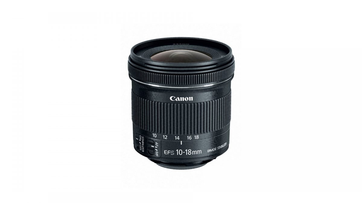 WIDE ANGLE VLOGGING LENS Canon EF-S 10-18mm f:4.5-5.6