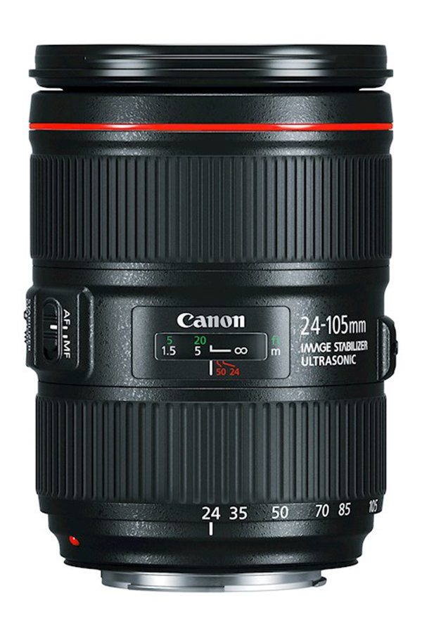 WIDE-TO-TELEPHOTO ZOOM LENS Canon EF 24-105mm f:4L IS USM