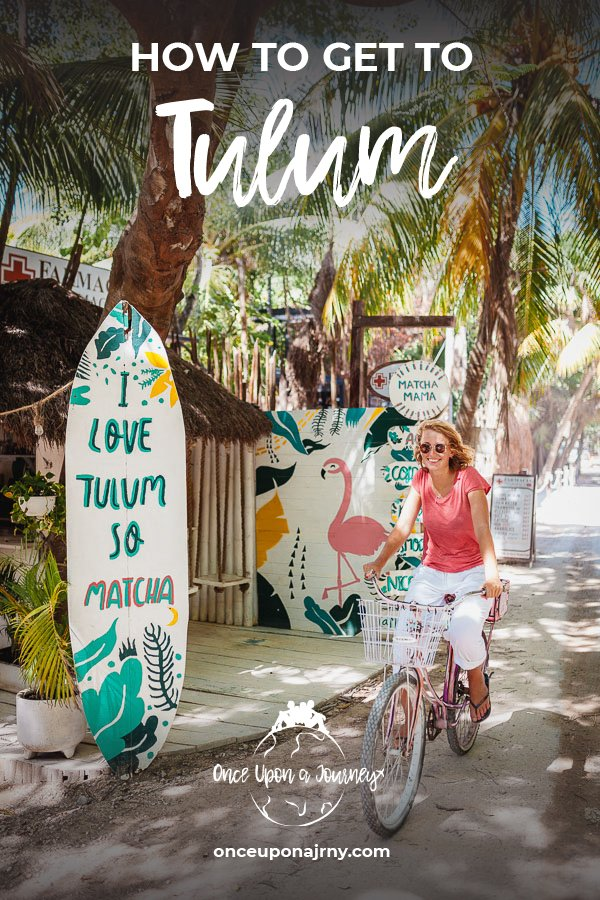 How to get to Tulum