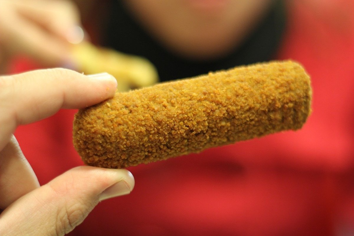 Kroketten (Dutch Croquettes), Dutch snack