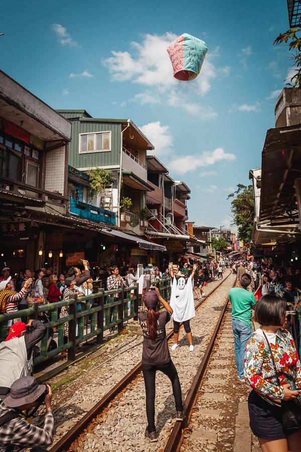 Shifen Old Street, Pingxi Lantern Taiwan