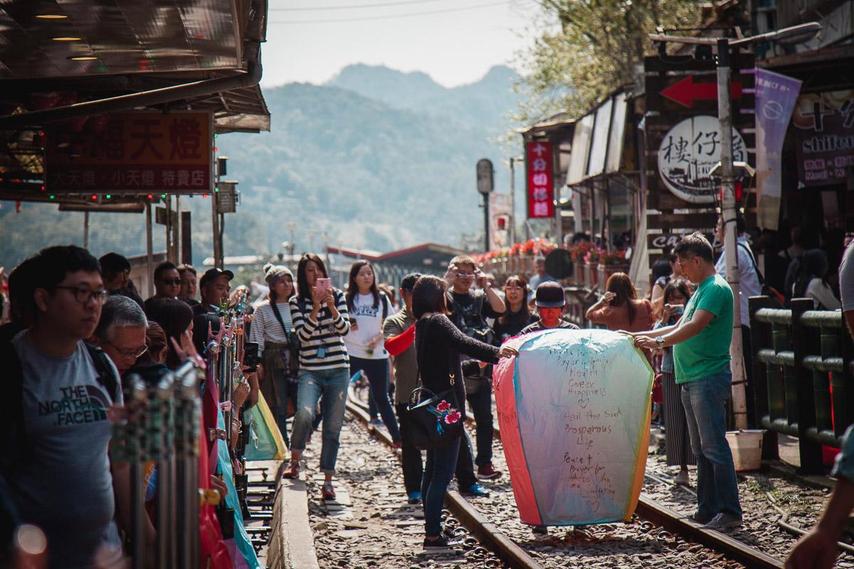 Shifen Old Street, Pingxi Lantern