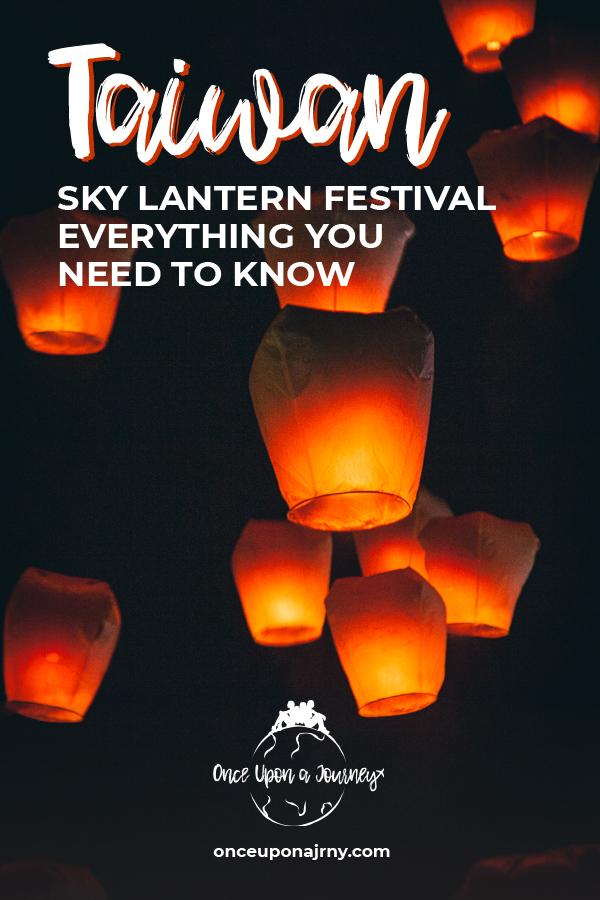 Taiwan Sky Lantern Festival