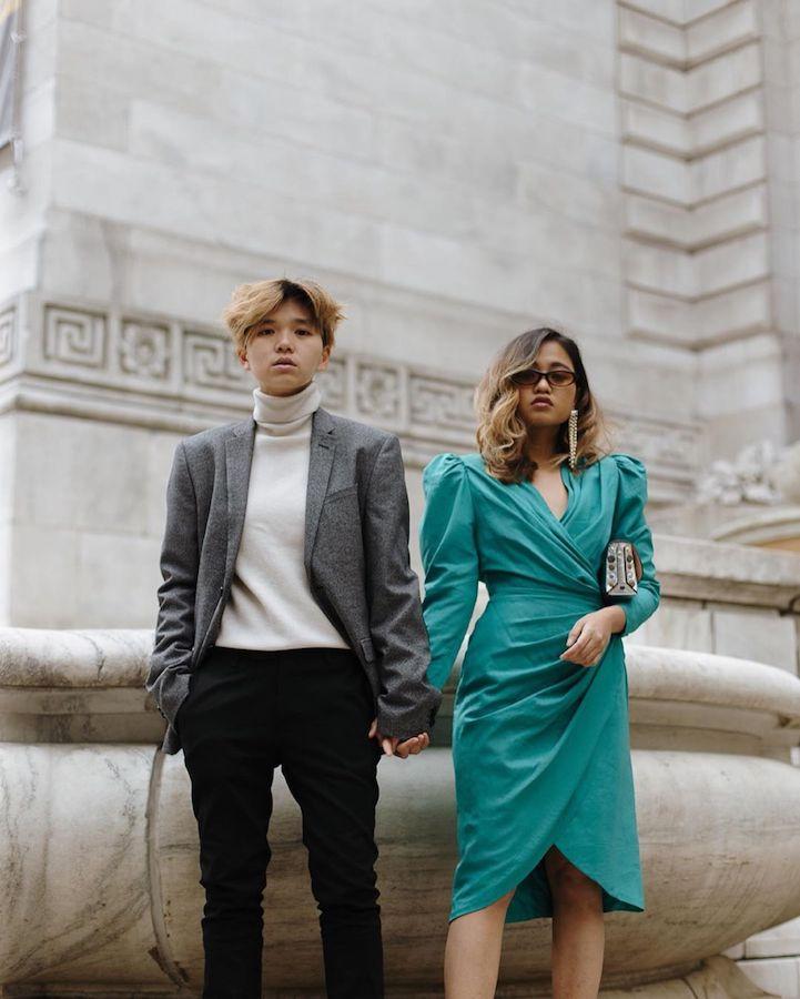 Alithea Castillo and Kim Geronimo The Street Sensei Asian lesbian couple