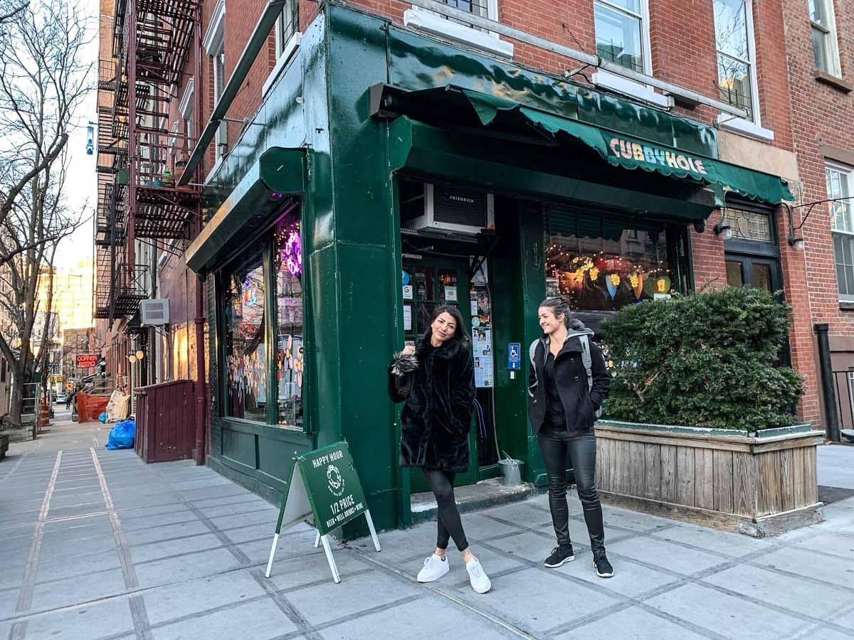 Cubbyhole lesbian bar NYC
