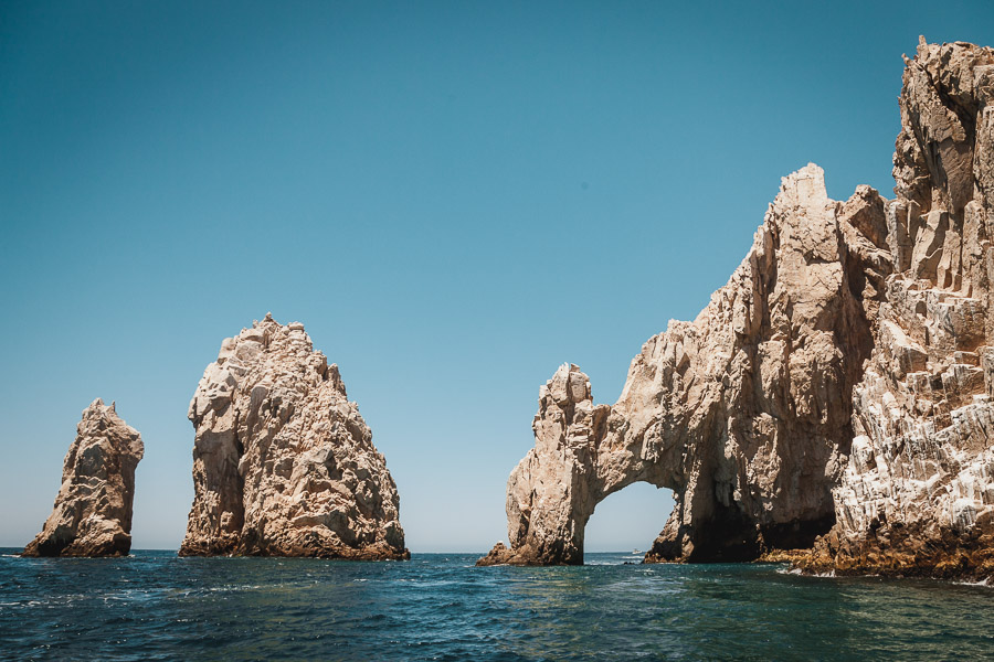 El Arco, The Arch of Cabo San Lucas in Baja California Sur