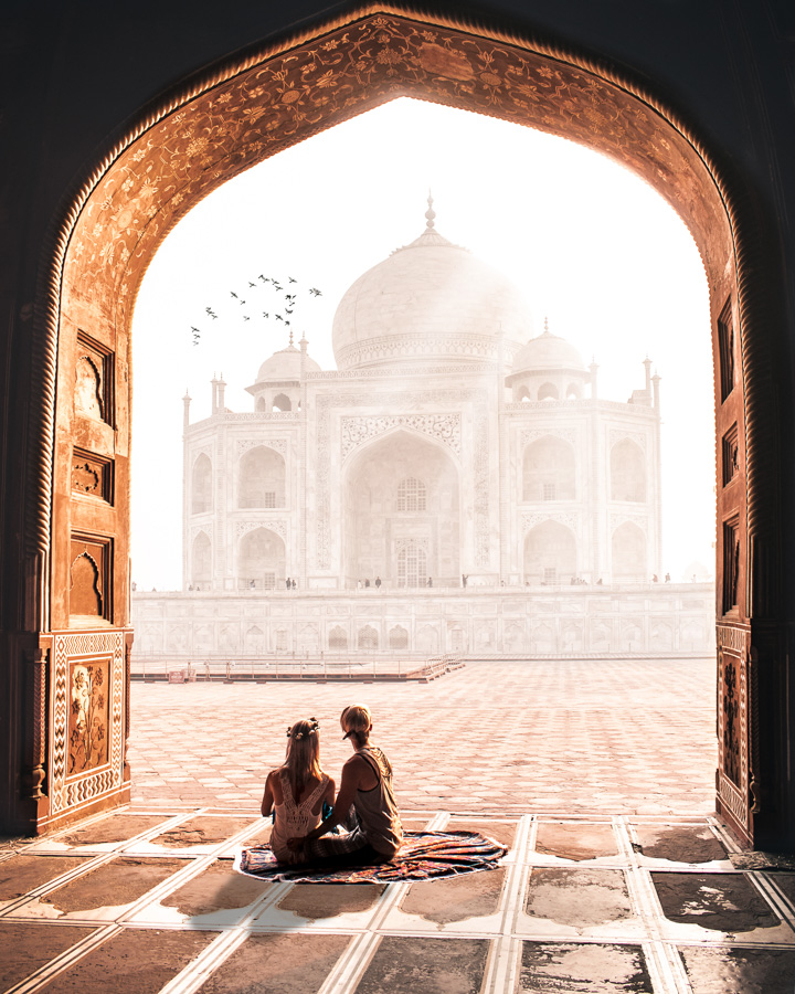Agra - Taj Mahal lesbian marriage in India