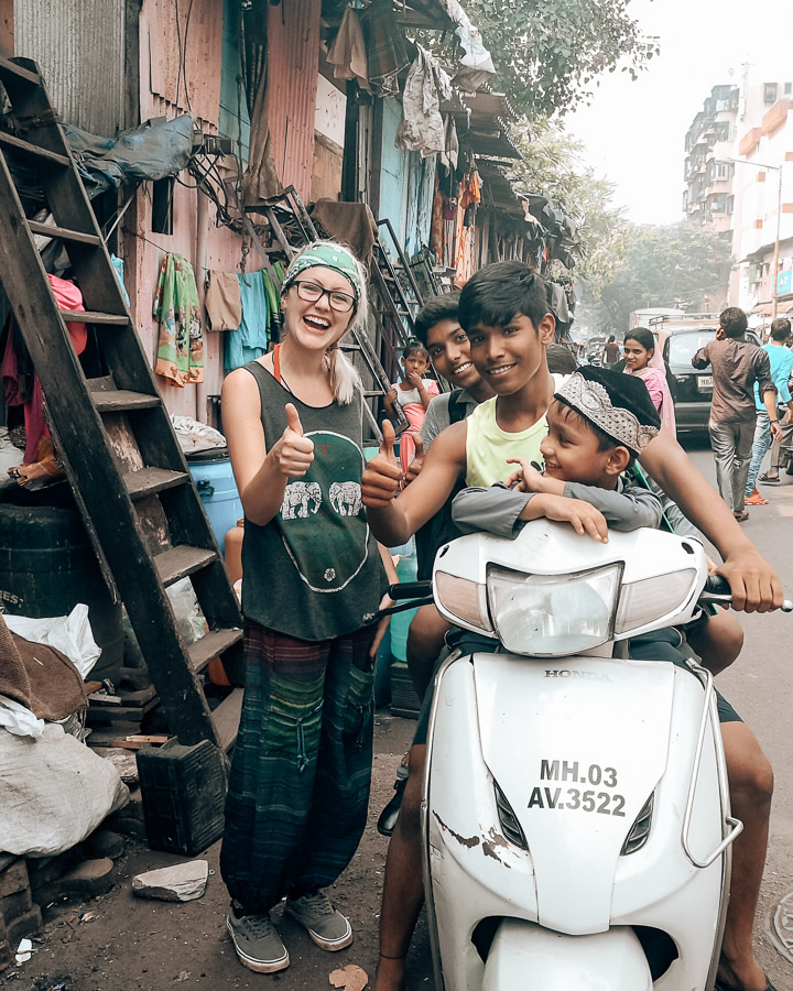 Female Safety India - Dharavi slum, Mumbai