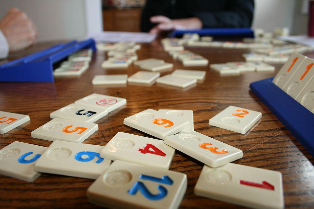 Rummikub Rummy Tiles Game