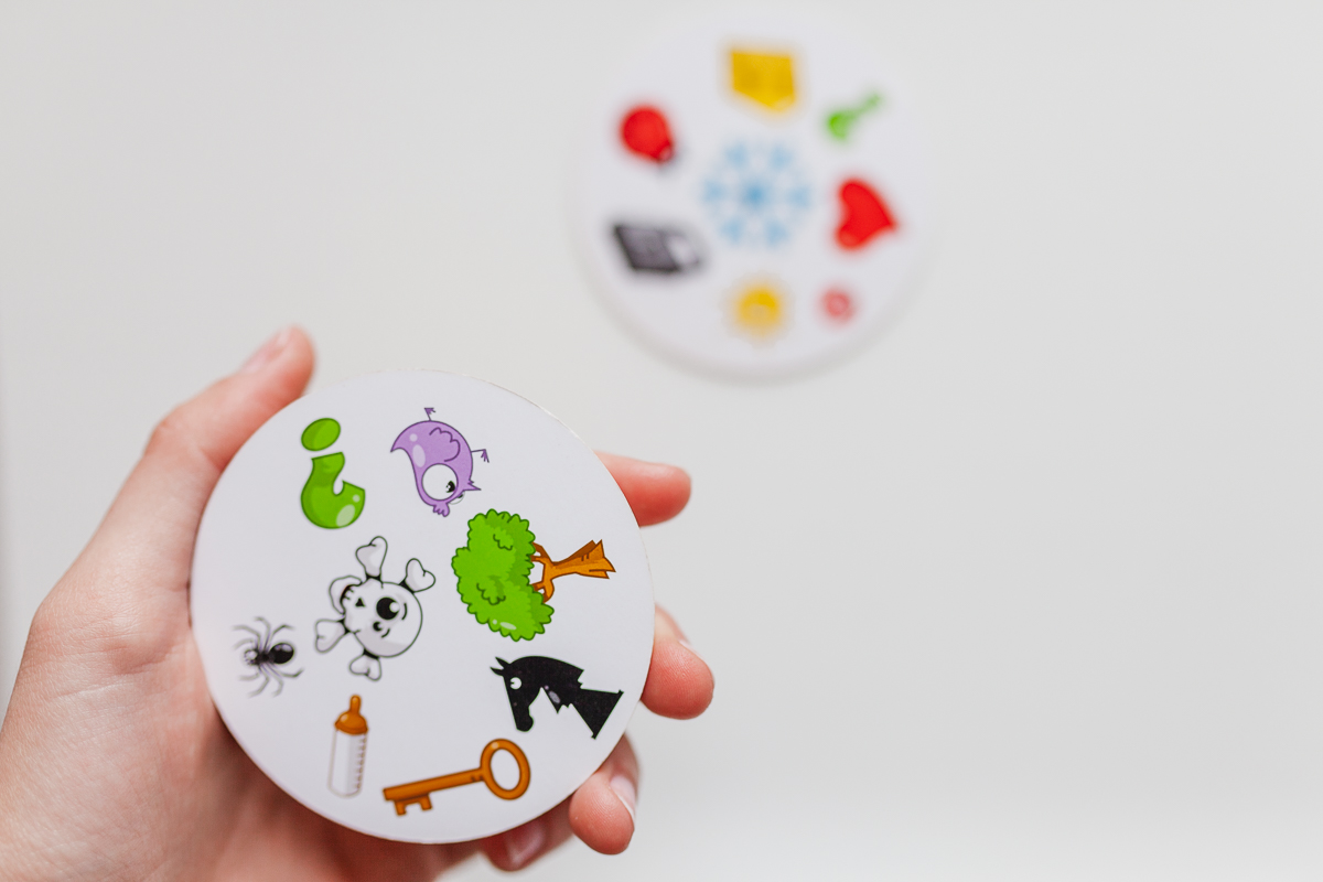 Spot It card game dobble