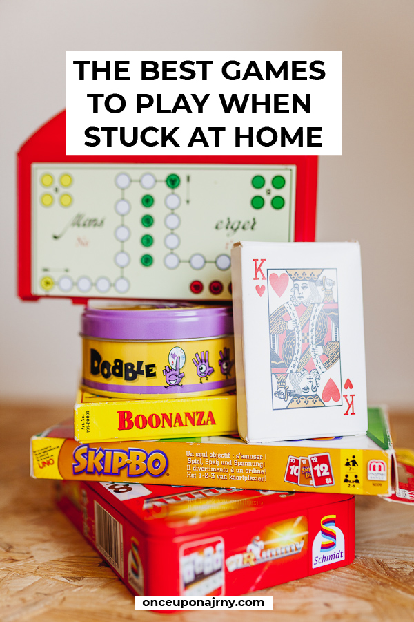 Things to Do When Stuck at Home the Best Card and Board Games
