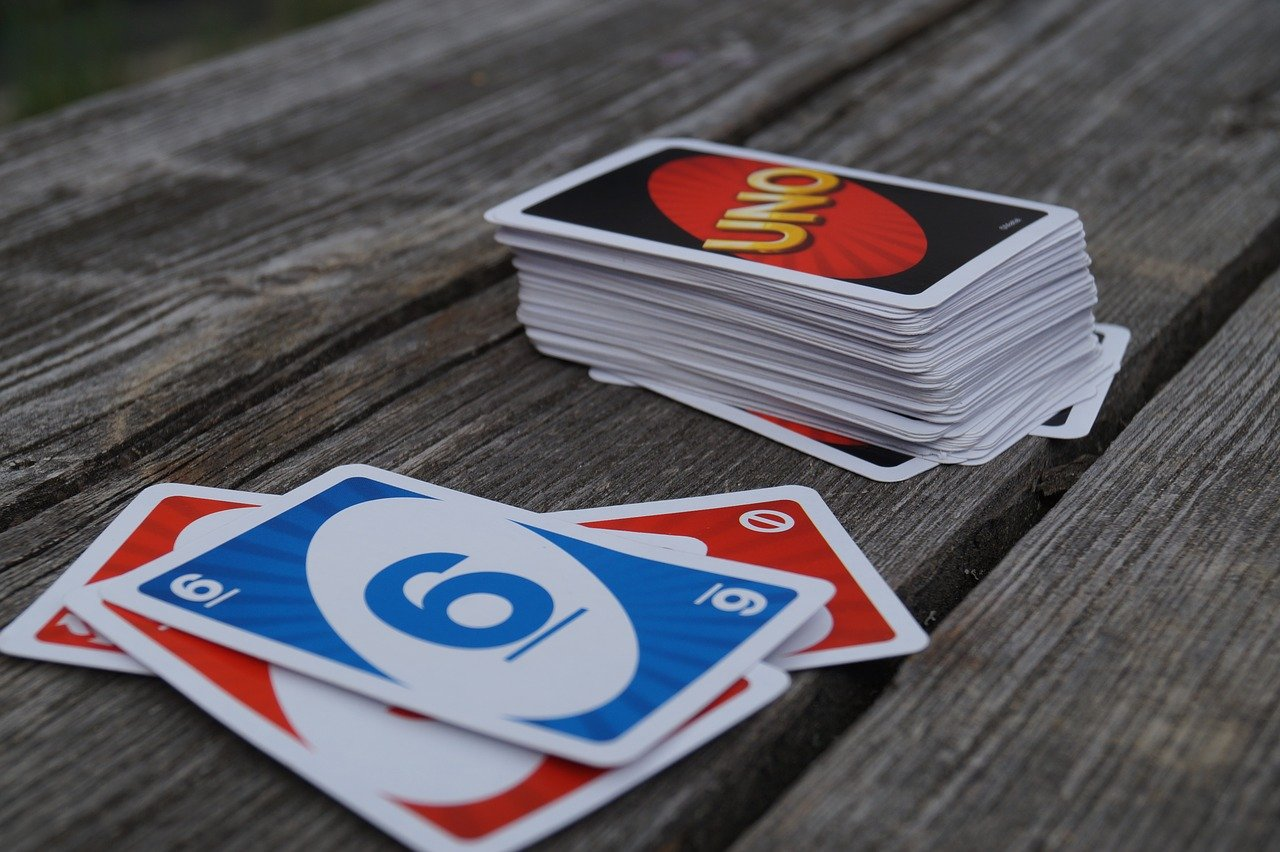 UNO travel card game