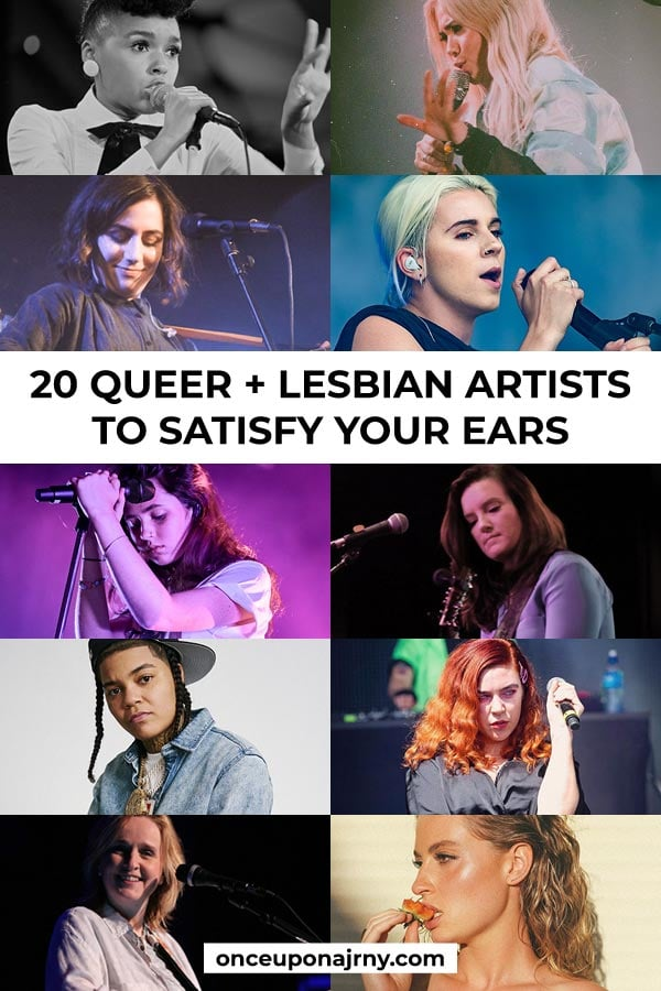20 queer + lesbian artists to satisfy your ears