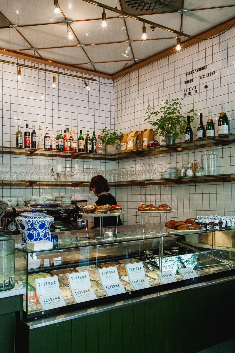 Stockholm Cafe, Taverna Brillo, Östermalm