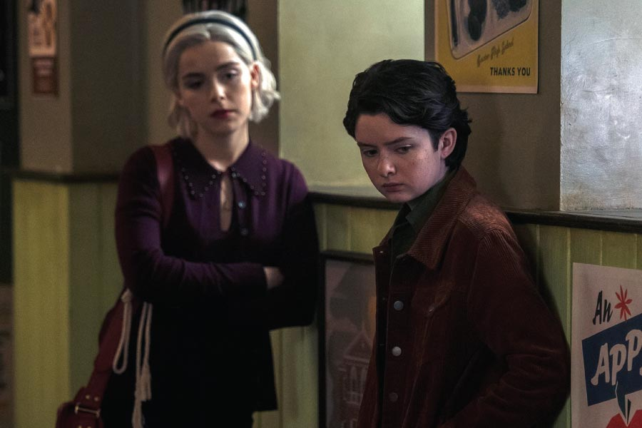 Chilling Adventures of Sabrina Theo Non Binary Netflix