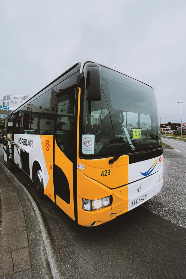 How to get from Keflavik Airport to Reykjavik Center Bus