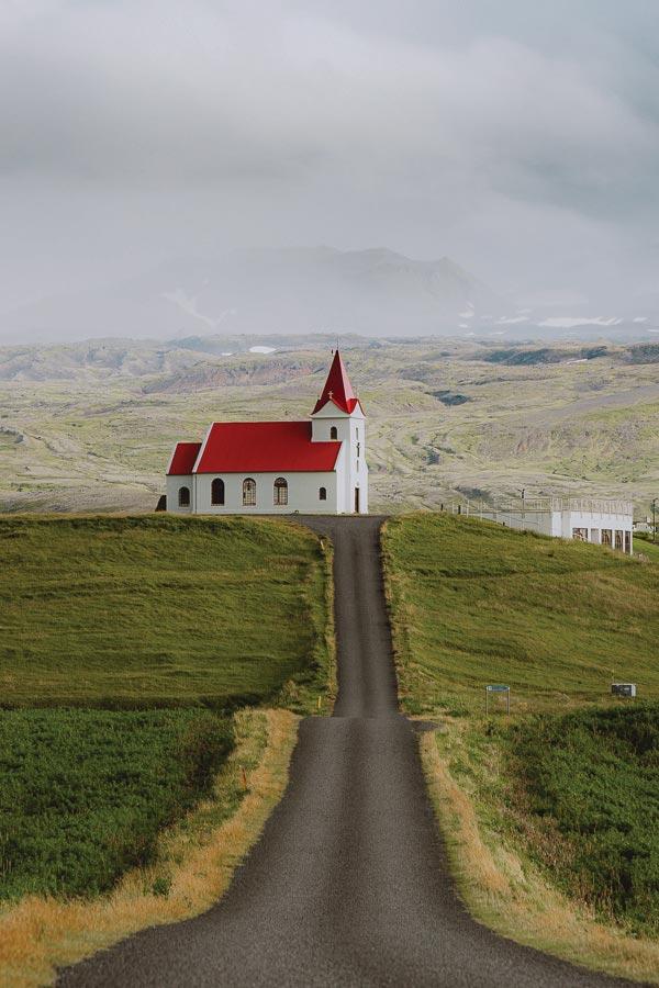 Ingjaldshóll Snæfellsnes West Iceland
