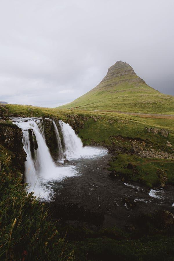 Kirkjufell Kirkjufellsfoss Snæfellsnes West Iceland