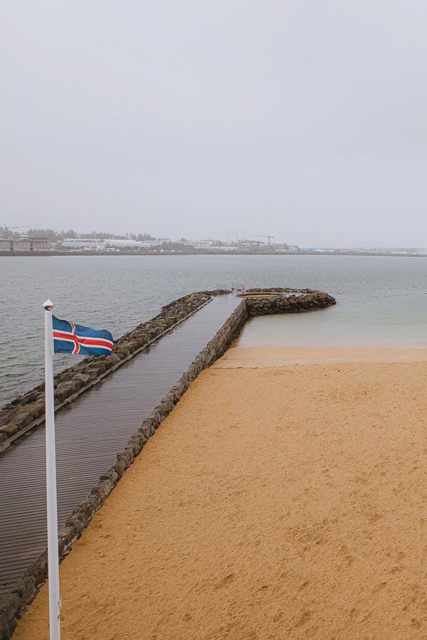 Nautholsvik Geothermal Beach Reykjavik