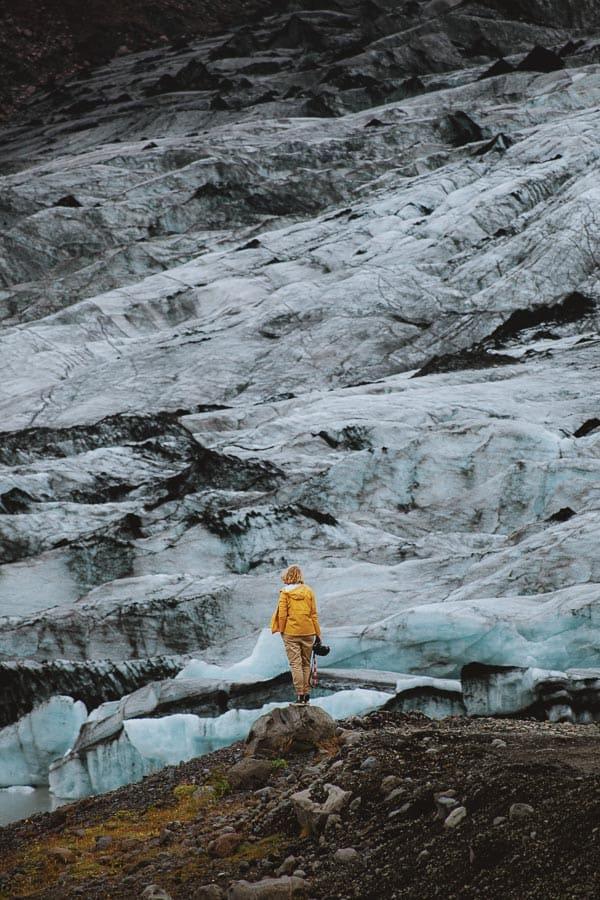 Solheimajokull Glacier Iceland