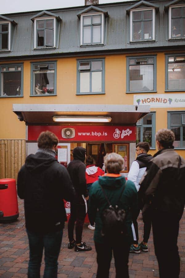 Where to Eat in Reykjavik Bæjarins Beztu Pylsur BBP Hot Dog Reykjavik