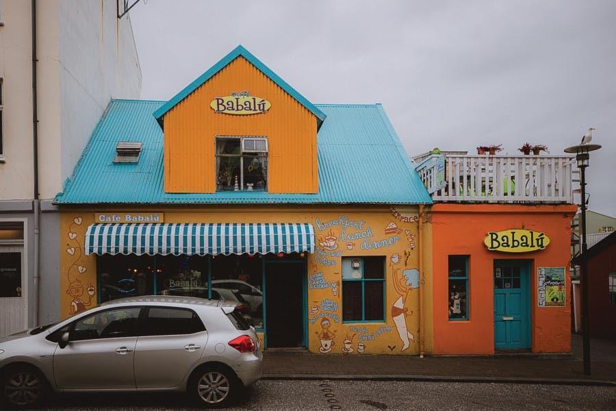 Where to Eat in Reykjavik Cafe Babalu Reykjavik
