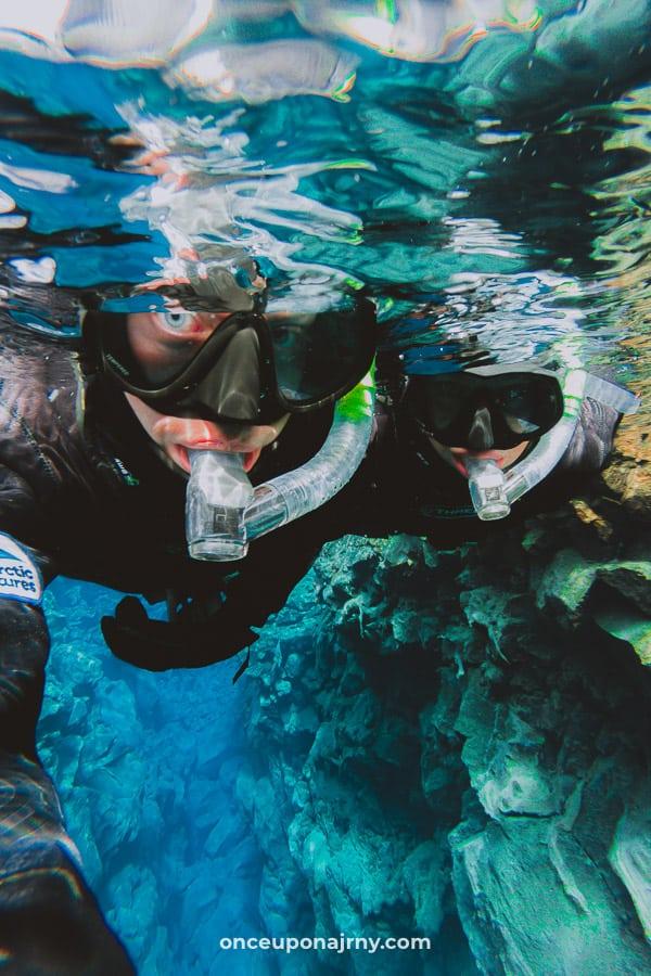 Iceland Snorkeling Silfra