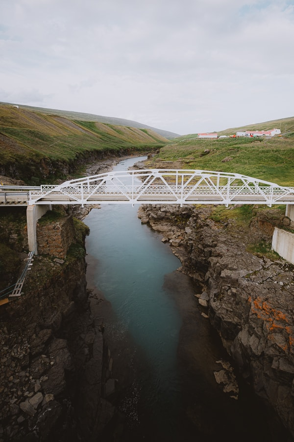 Oldest bridge in East Iceland