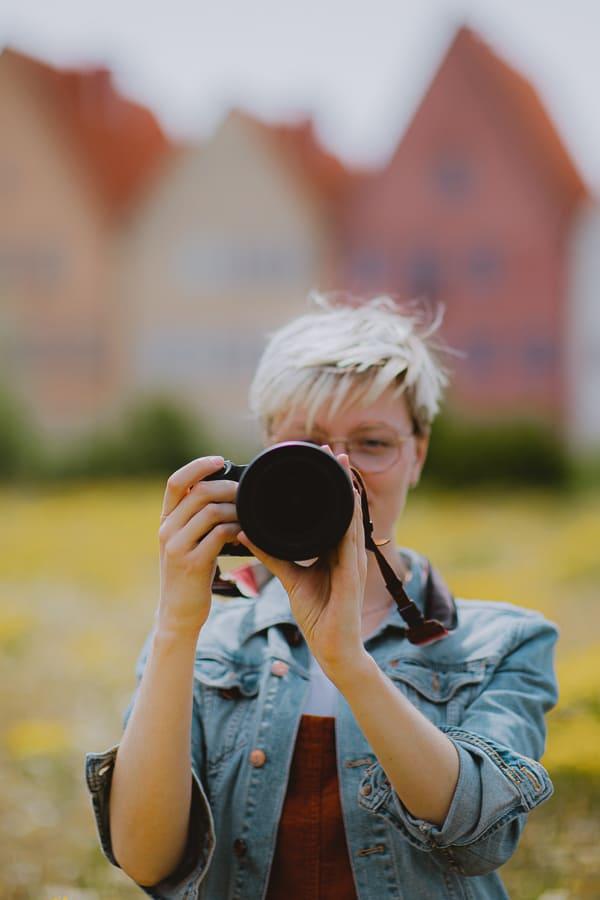 Queer female photographer Maartje Hensen