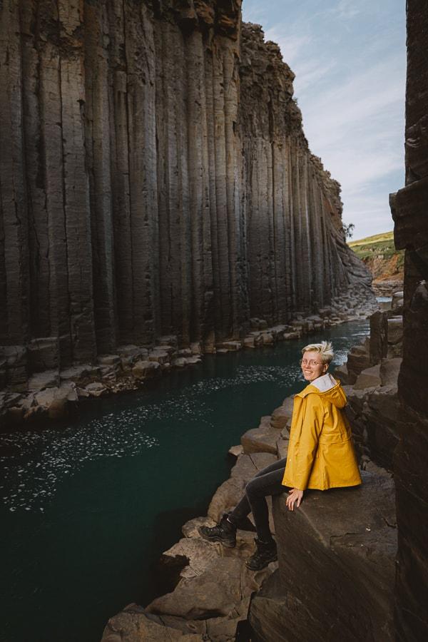 Studlagil Basalt Canyon East Iceland