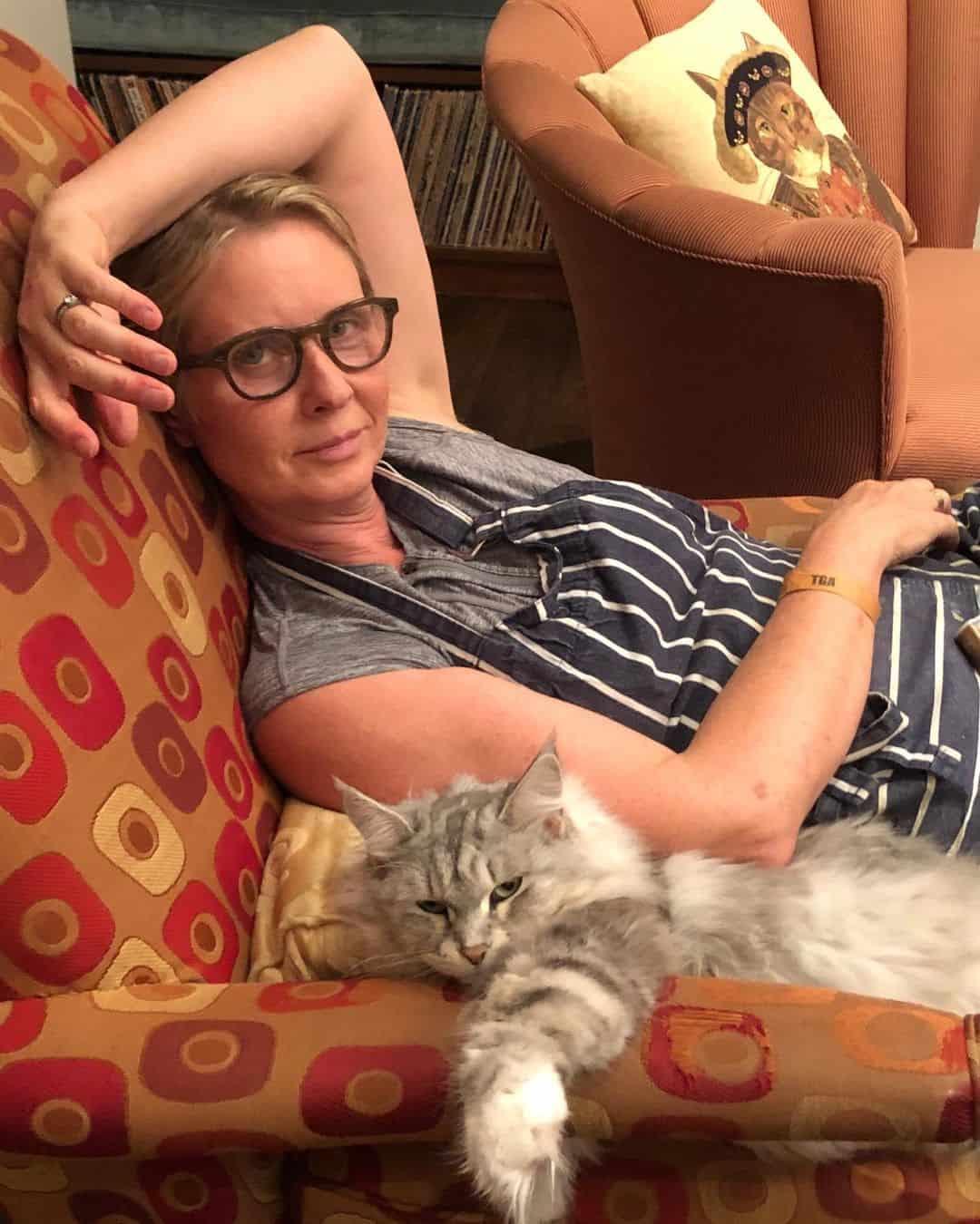 Cynthia Nixon cynthiaenixon lesbian instagram